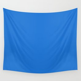 Simply Solid - Bright Navy Blue Wall Tapestry