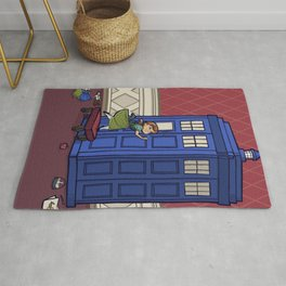 Who wants to Build a Snowman? Rug