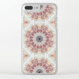 Epistylis Kaleidoscope | Micro Series 05 Clear iPhone Case