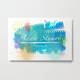 Adam Stuart Productions - Paint Splatter Metal Print