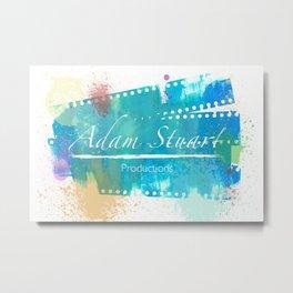 Adam Stuart Productions - Paint Splatter Metal Print