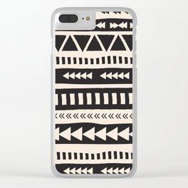 BohoTribal Design Clear iPhone Case