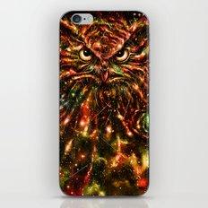Space Owl iPhone & iPod Skin