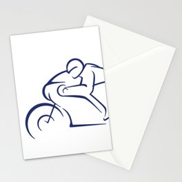 Motor racing Stationery Cards
