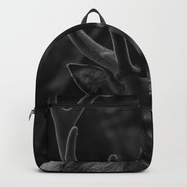 The Antlers (Black and White) Backpack
