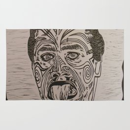 Haka Maori Rug