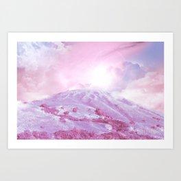 Autumn Hill 0.1 Art Print