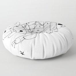 Joan Miro El Gato The Cat Artwork for Prints Posters Tshirts Men Women Kids Floor Pillow