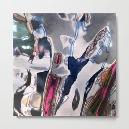 Distorted Perception Metal Print