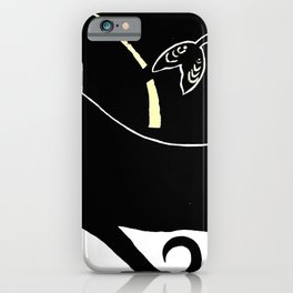 Daughter of the Whale iPhone Case