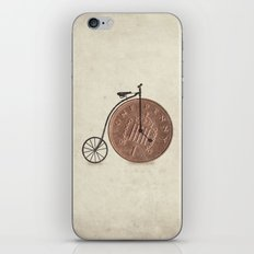 Penny Farthing iPhone Skin