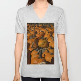 Pumpkin Patch Unisex V-Neck
