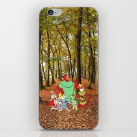 robin hood iPhone & iPod Skins featuring Robin Hood and the Gang by foreverwars