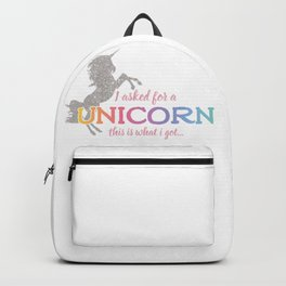 I asked for a Unicorn... Backpack