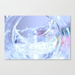 Abstract glass - 2 Canvas Print