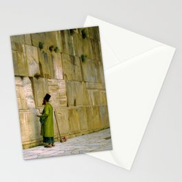 Jean-Leon Gerome - The Wailing Wall - Digital Remastered Edition Stationery Cards