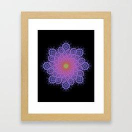 Fractal Mandala 1 Framed Art Print