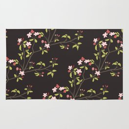 The cherry tree Rug