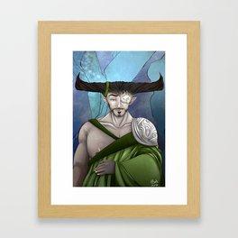 The Iron Bull Framed Art Print