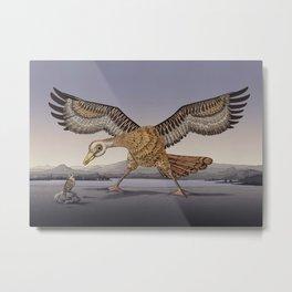 David and Goliath Metal Print