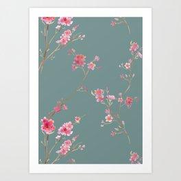 2016 Calendar Print - Cherry Blossoms Art Print