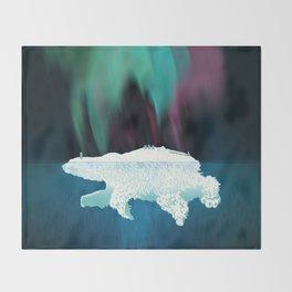 Polar Ice Throw Blanket