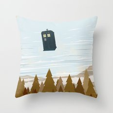 I Believe In The Doctor Throw Pillow