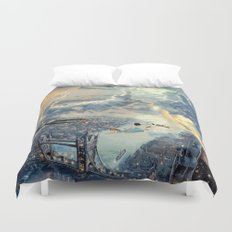 Peter Pan - The Second Star to the Right Duvet Cover