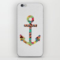 anna iPhone & iPod Skins featuring you make me home by Bianca Green