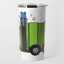 Recycle Truck Travel Mug