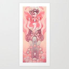 the mushroom order Art Print