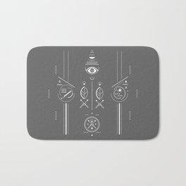 Mystical signs  Bath Mat