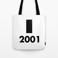 2001: A Minimalist Space Odyssey Tote Bag