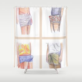 Good morning! Shower Curtain