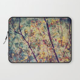 Seasons Circles and Cubes Laptop Sleeve