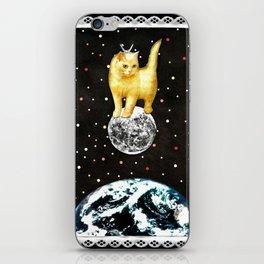 Selene greek goddess cat of the moon handcut collage iPhone Skin