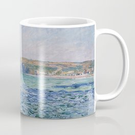 Shadows on the Sea at Pourville by Claude Monet Coffee Mug