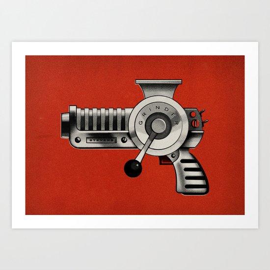 The Grinder (Clean) Art Print