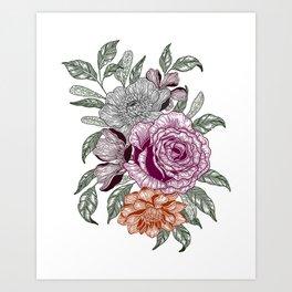 Overgrown 3 Art Print