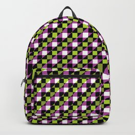 Multicolor Checkboxes Backpack