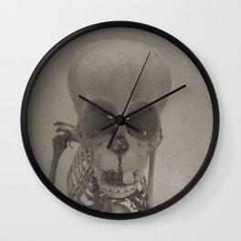 Primate Skull Study Wall Clock