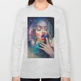 BLACK HOLE IN THE MILKY WAY Long Sleeve T-shirt