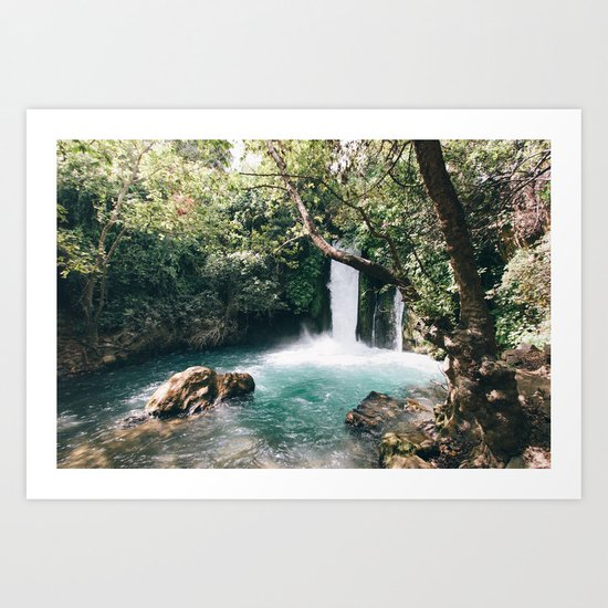 Chasing Waterfalls Art Print