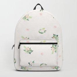 Floral pink Backpack