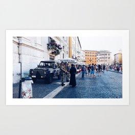 War and Peace Art Print