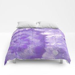 Ultra Violet Crystal Comforters