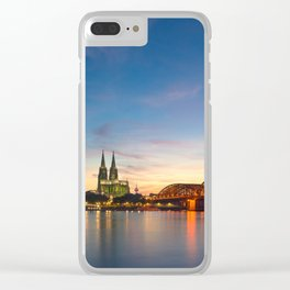 COLOGNE 24 Clear iPhone Case