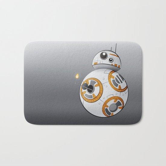 War in the Stars -- BB-8 Bath Mat