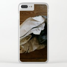 que sera Clear iPhone Case