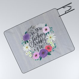 Pretty Sweary 2.0: Are You Fucking Kidding Me? Picnic Blanket
